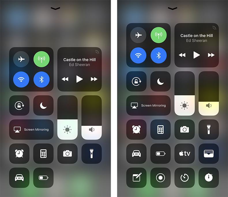 Control Apple TV from iPhone's Control Center
