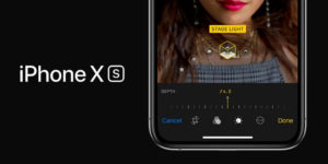 Depth Control in iPhone XS