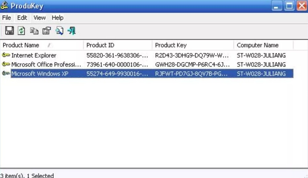 where to find windows 7 product key