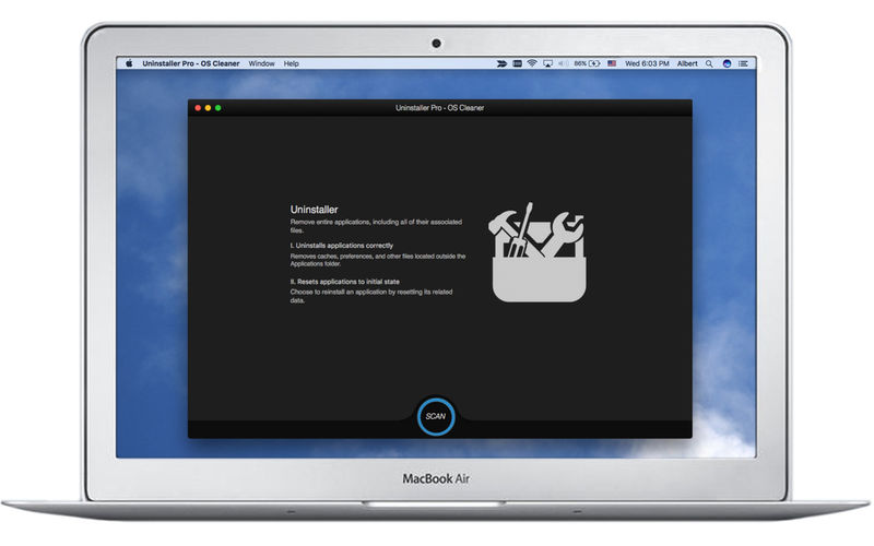 Remove programs from Mac using the uninstaller wizard
